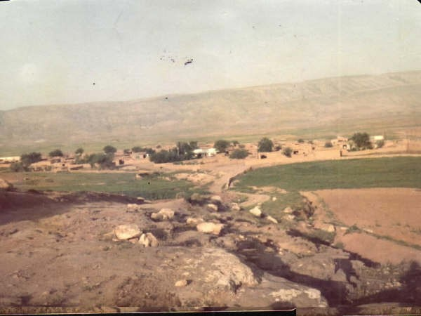 Hashazini village in 1988, before the Anfal campaign.
